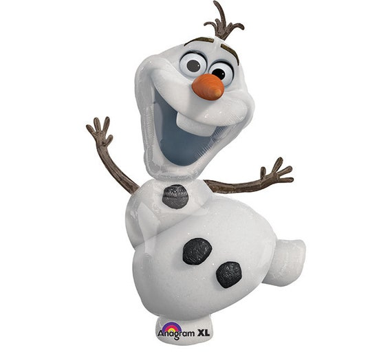 Disney frozen olaf mylar balloon by sweetcreationsparty