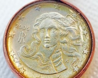 Botticelli's Venus Coin Pendant