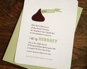 Baby Hershey Kiss Shower Invitations (25)