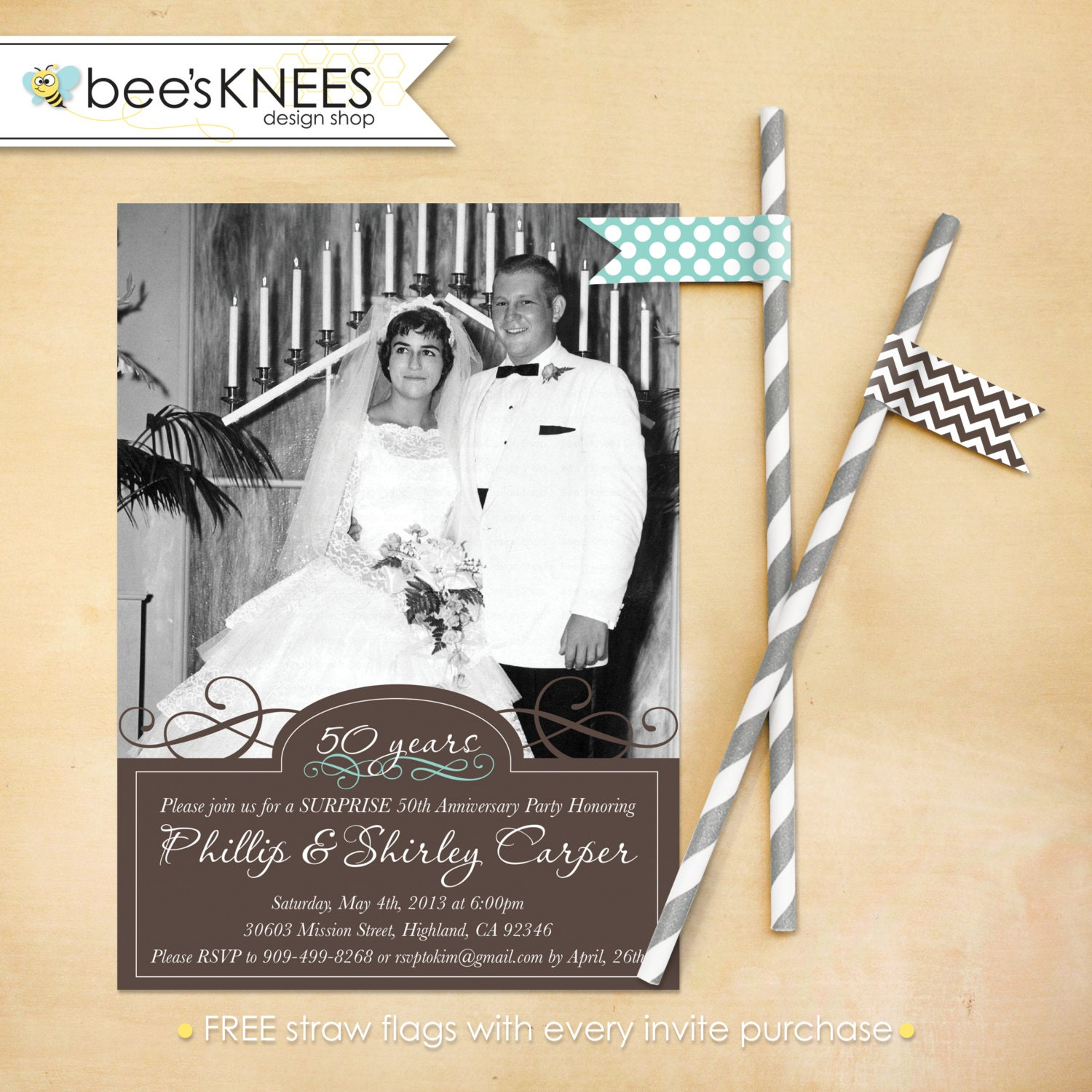 25th 50th wedding anniversary invitation 50th wedding anniversary invitations 25th 50th Wedding Anniversary Invitation Will work for any anniversary Customized for you zoom