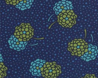 SALE - Simply Style - Dotty Mums Navy Blue by V and Co from Moda