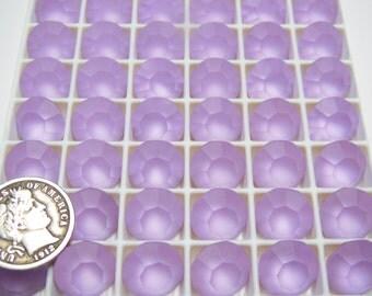 3 Preciosa 47ss Violet Matte Czech Chatons GF