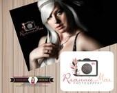 Elegant & Modern Camera Pre-made Logo, Photography Logo -MHD120