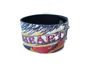 Leather bracelet.Unisex