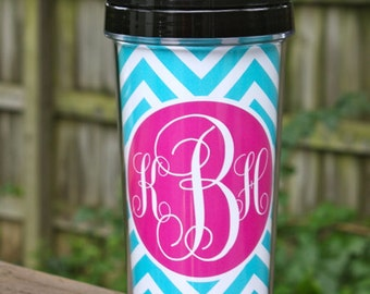 Personalized Tumblers with straw
