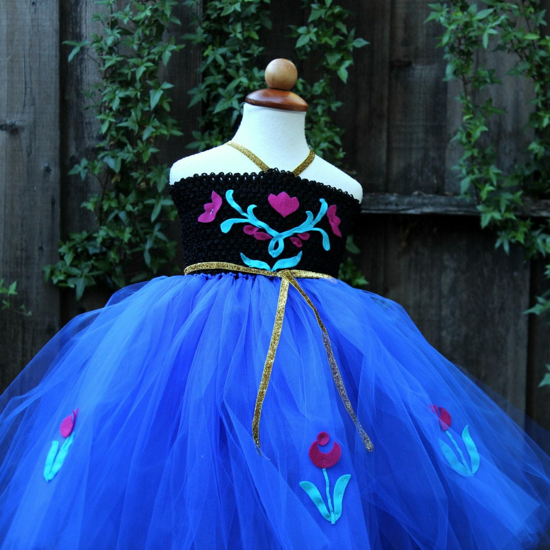 Frozen Anna Dress Anna birthday dress Frozen Anna Dress