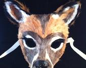 Doe a Deer - Feathered Specialty Custom Animal Masks