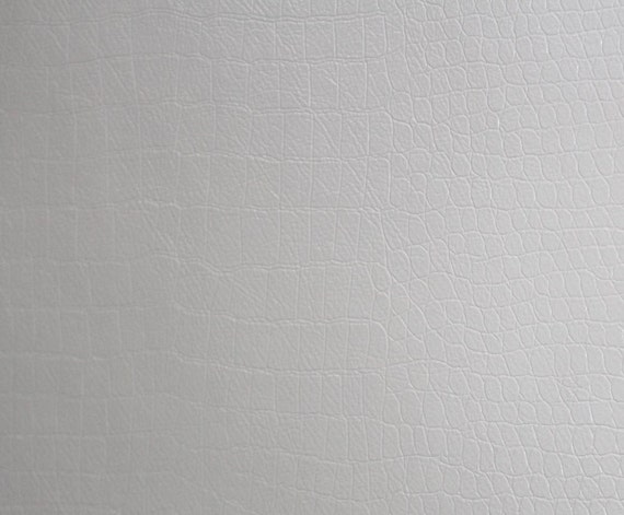 alligator white color upholstery faux leather vinyl fabric by the yard