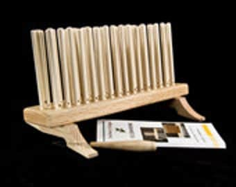 """Peg Looms - 16"""" 3 Rows Pegs Hand Made Red Oak"""