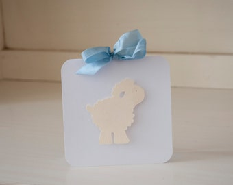 Sheep Lamb Invitations Thank You Cards Notes Baby Shower Invites Blue Baby Boy First Birthday Party