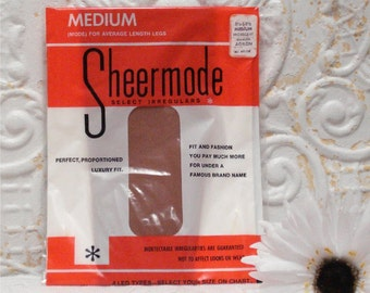 2 Pair Sheermode Med Iridescent Thigh High Stockings 8 1/2-9 1/2 1 Package