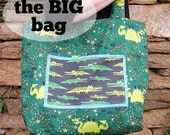 The Big Bag tote bag pattern PDF