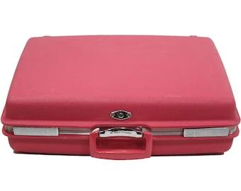 Pink Luggage - Vintage 1970's Suitcase