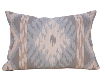 Designer Pillow - Thom Felicia - Ikat Pillow - Decorative Pillow