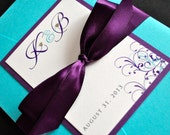 Pocketfold Wedding Invitations - Custom Wedding Invitations - Elegant Wedding Invitations - Wedding Invitations