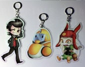Space Dandy Key Chains