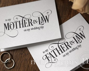 Wedding Gifts For Future Mother In Law : CalligraphyMother In Law Poem