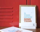 Holiday Card - Very Merry Something (5-pack)