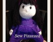 """SALE Faith 20"""" Crochet Doll"""
