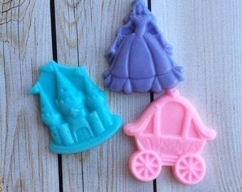 10 PRINCESS SOAP {Favors} - Princess Party, Carriage Soap, Castle Soap, Soap Party Favor, Fairytale Wedding