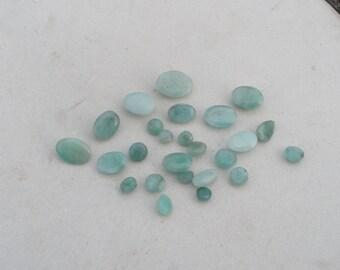Emerald gem mix loose parcel over 10 carats