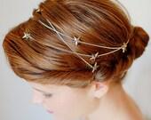 Style #4004 - Twig and Sparrow star wraparound headchain/headwrap