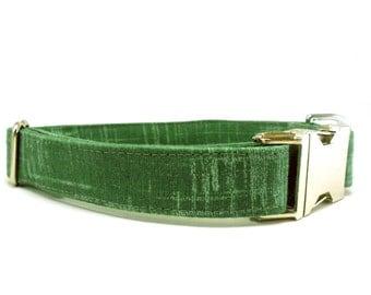 Green Tea Dog Collar
