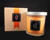 CITRUS SOARIN' - Orange and Evergreen (Disney scented), 8 oz candle, optional gift box