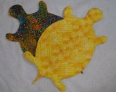 Quilted Labyrinth in Turtle Shape 1