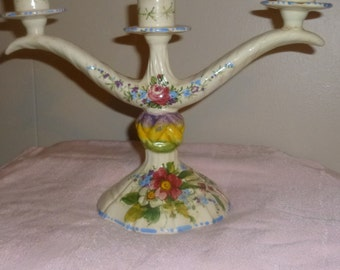 I/2 OFBeautiful Antique Candlelabra From Italy