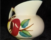 RESERVED >>>> Vintage Purinton Pottery Apple Pitcher