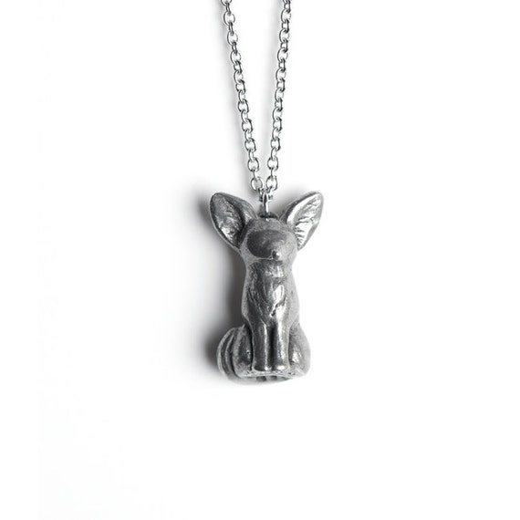 Fox Necklace, Fennec Fox Totem