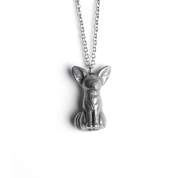 Fox Necklace, Fennec Fox Totem