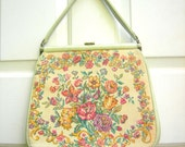 Vintage JR tapestry purse