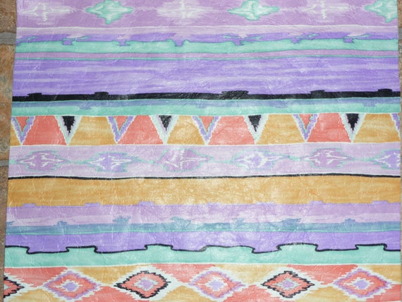 "Leather 12""x12"" Southwestern Lavender PURPLE Navajo TRIBAL Cowhide 2 oz / .8 mm PeggySueAlso™ E2400"