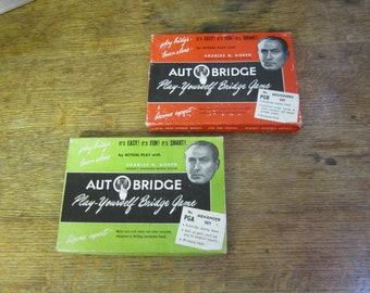 Two x Goren's Autobridge Games beginners and advanced.