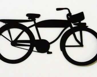 Vintage Bicycle Die Cut for Scrapbooking or Cardmaking
