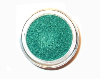 Mineral Eye Shadow  VIVID GREEN - Just as green as green can be - 3 gram or 5 gram