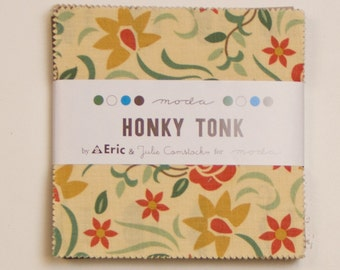 Honky Tonk Fabric Collection by Eric and Julie Comstock for Moda Fabrics - 1 Charm Pack