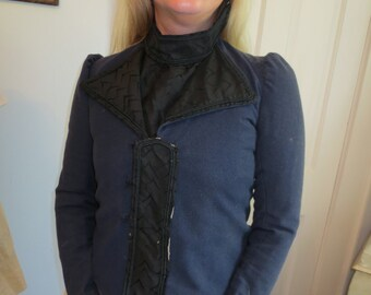 1880s Victorian FITTED Wool JACKET Top Needs minor TLC