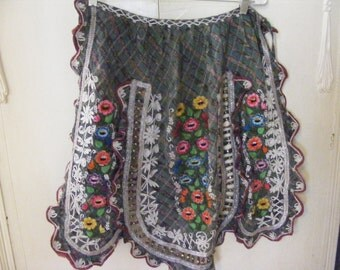 Vintage SouthAmerican Embroidered Apron