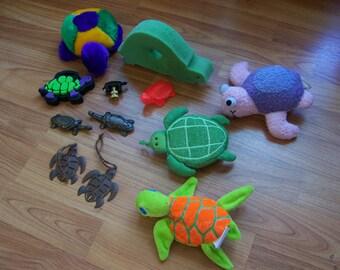 Twelve Fun Turtles
