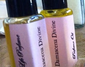 SAMPLE Damascena Divine Perfume Oil pure natural rose fragrance