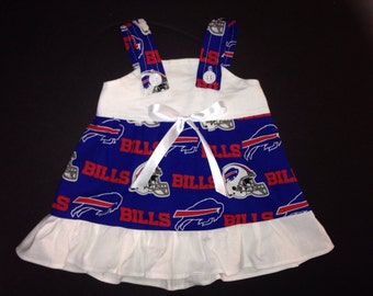 Buffalo Bills Baby Infant Toddler Girls Dress  You Pick Size
