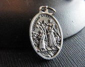 Italian Made Traditional Catholic Guardian Angel Medal