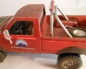 Classicwrecks Scale Model Rusted Datsun Red Pickup Truck