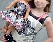 Charlotte's Corset Top and Antoinette's Twirly Skirt for 15- and 18-inch Dolls