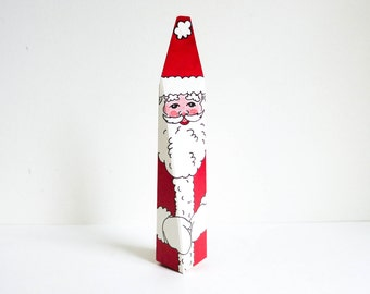 Miniature Santa Gift Box for Jewelry or Cash - Christmas Gift Box - Stocking Stuffer - Christmas Decoration