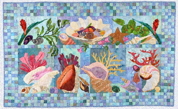 Shell Collection Applique Quilt Pattern By Maggie Walker