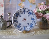 Titanic Delft Second Class Dollhouse Miniature Plate